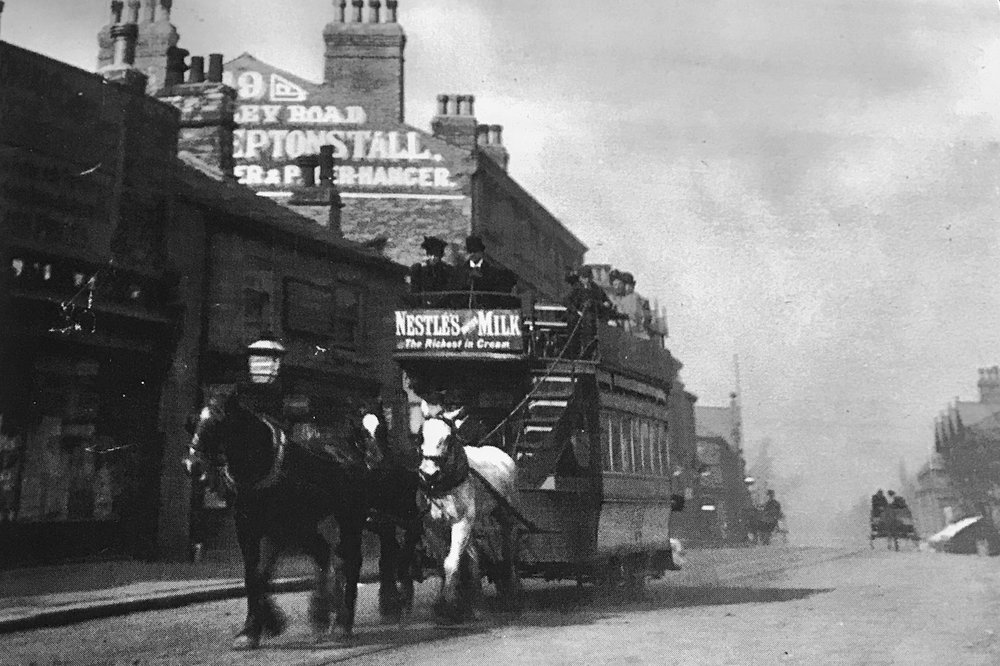 Horse Tram, circa 1890