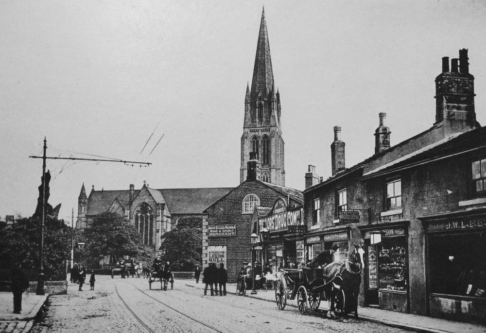 St Michael's Church, circa 1903