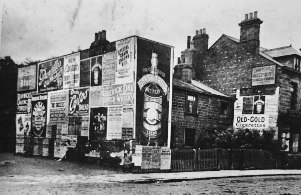 Otley Road and Wood Lane Junction, 1895