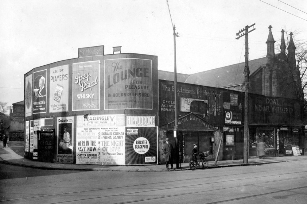 Otley Road and North Lane Junction, 1928