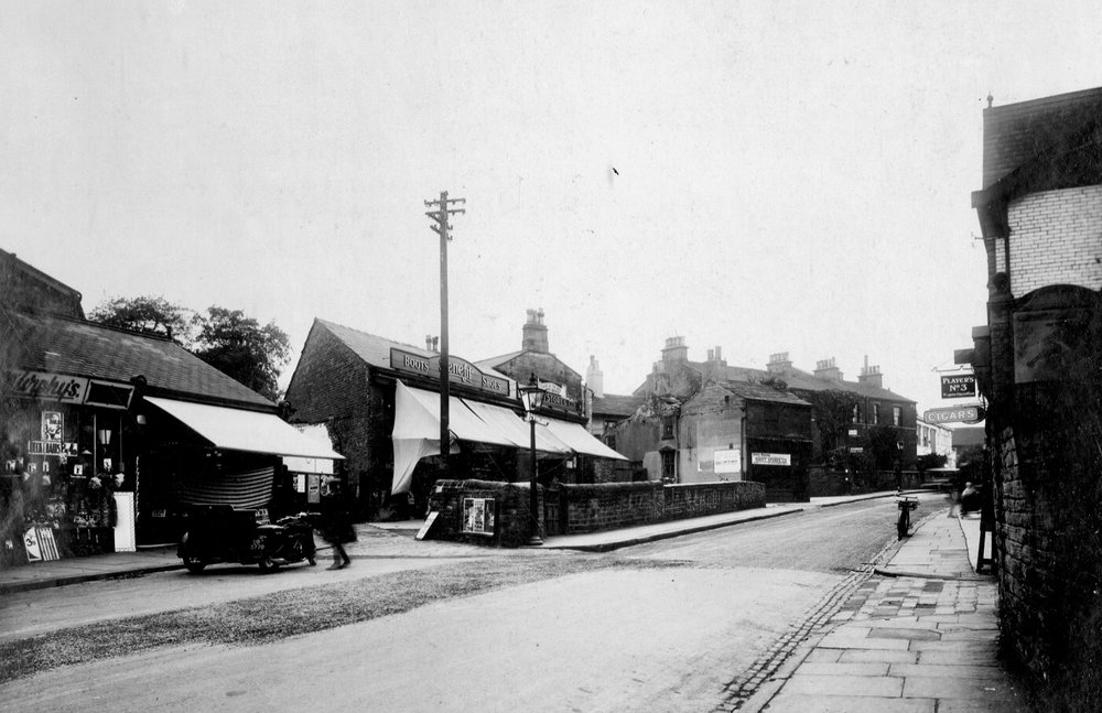 North Lane, from no58 to the Lounge Cinema, 1931