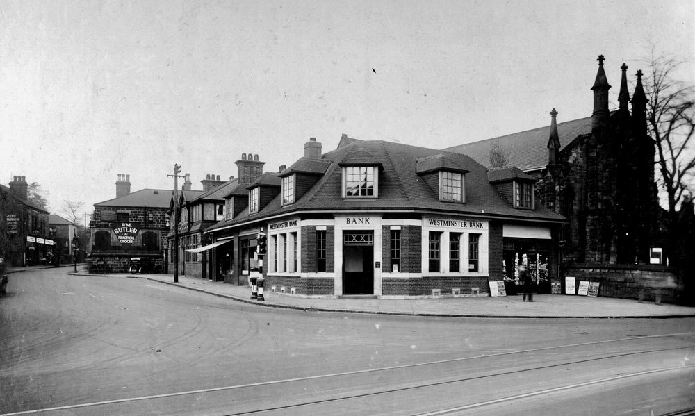 Otley Road and North Lane Junction, 1931