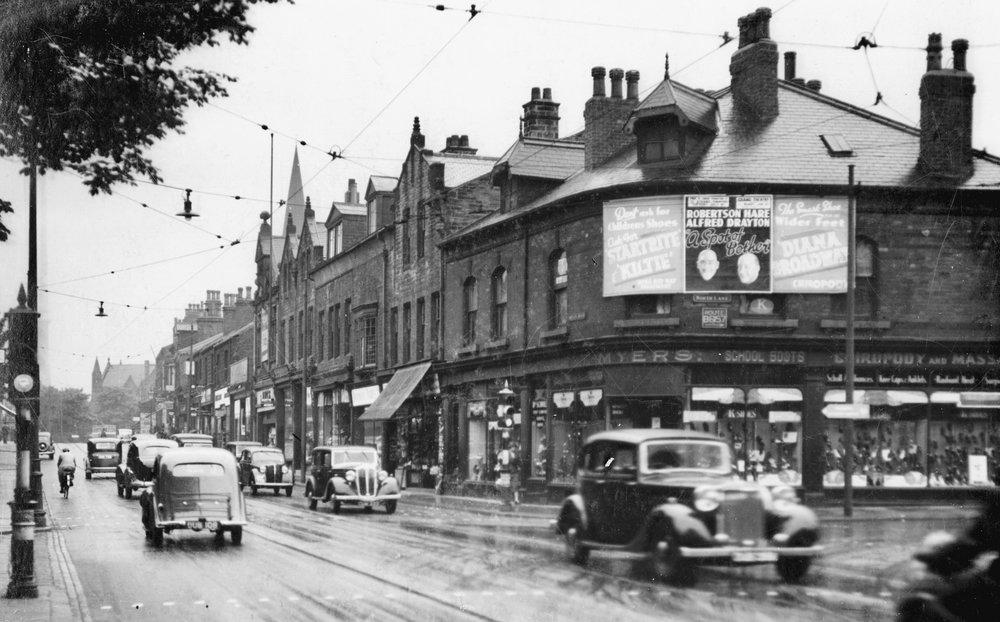 Otley Road, 1937