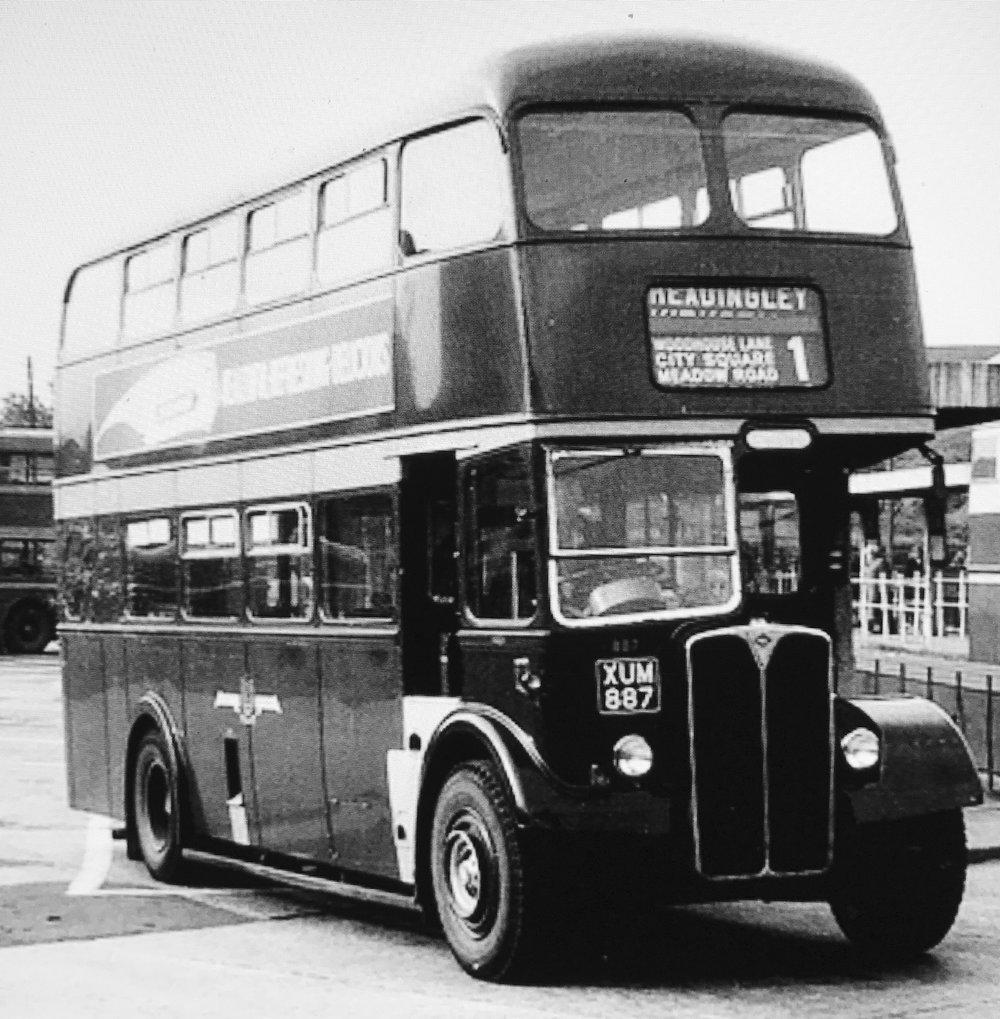 Bus, circa 1960