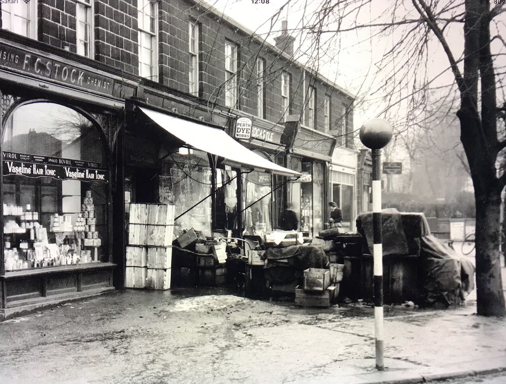 Otley Road and Shaw Lane Junction, 1947