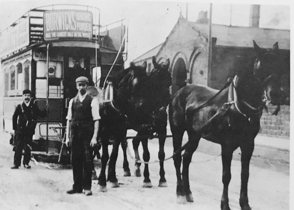 Horse Tram, Headingley Depot
