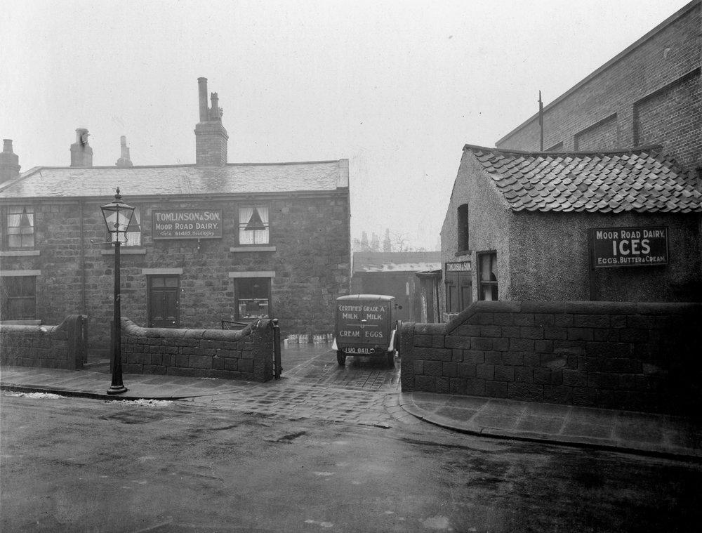 Tomlinson Dairy, Moor Road