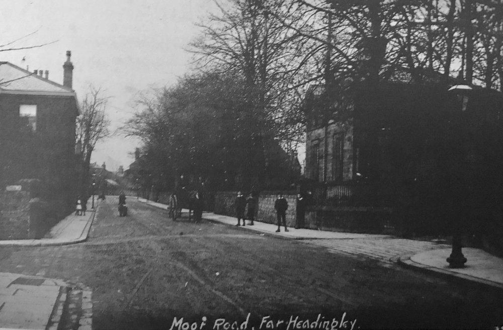 Moor Road / Cottage Road Junction