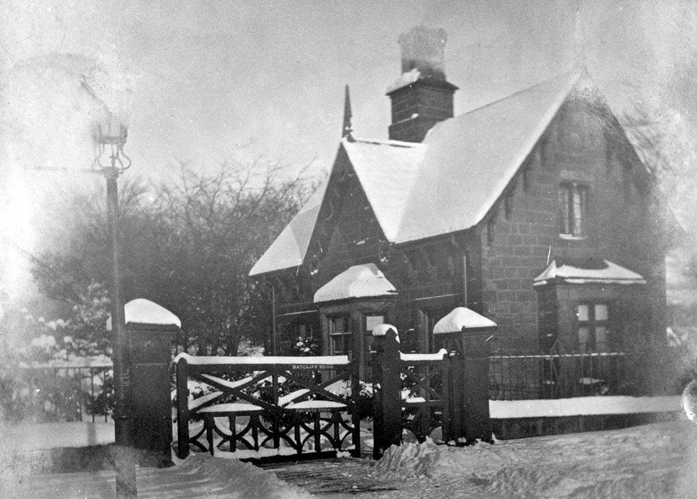 Lodge (demolished) for Batcliffe Wood House, Kirkstall Lane