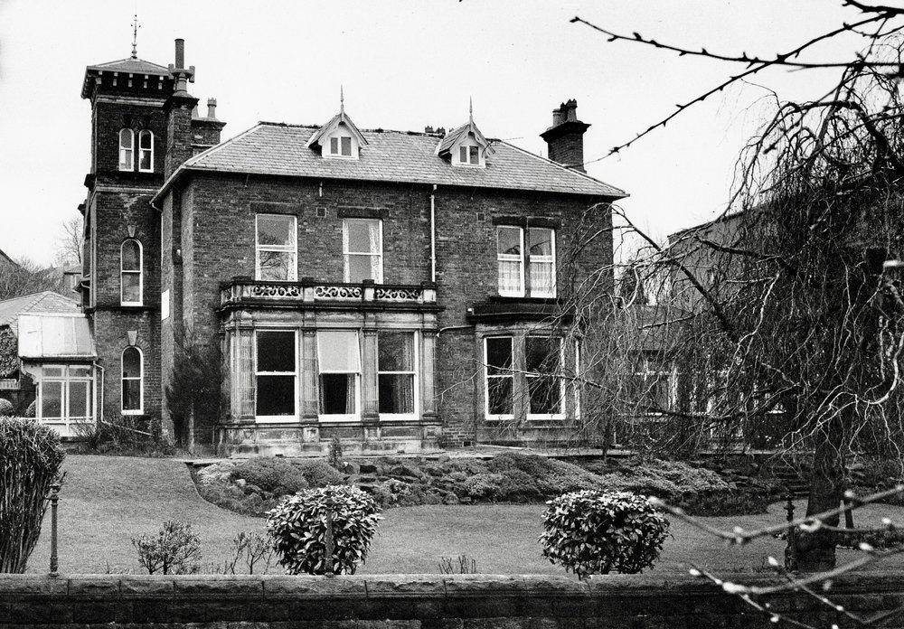Gardenhurst, built in the Old Gardens (now demolished)