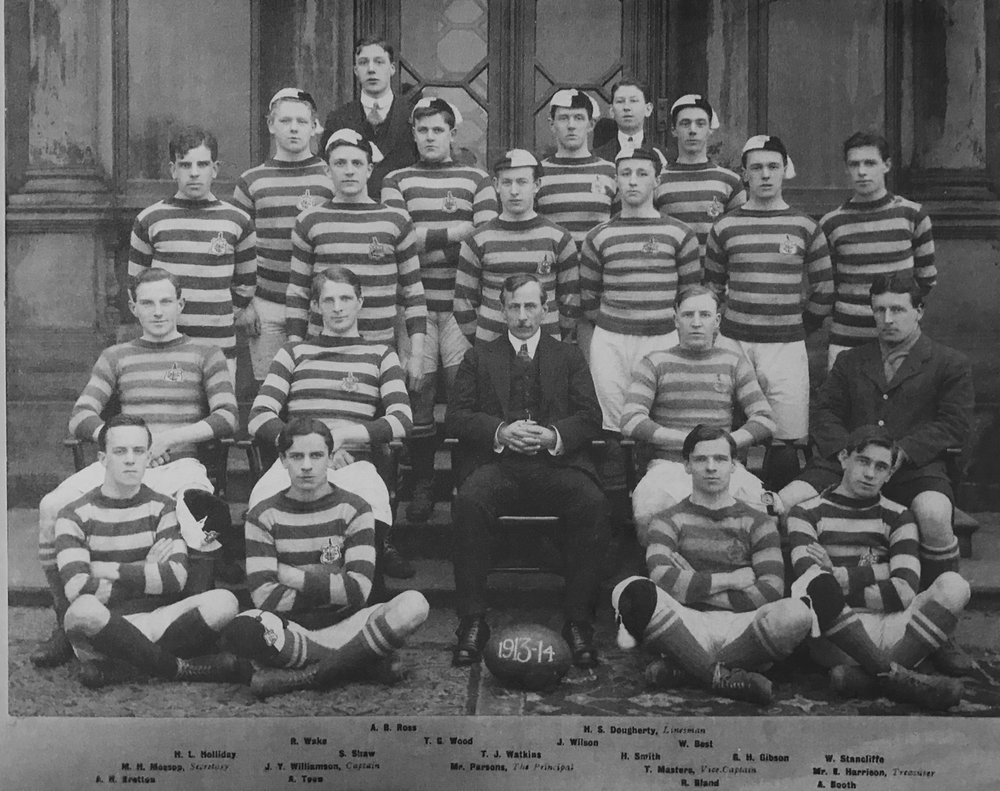 Men's rugby union team, 1913-14 season