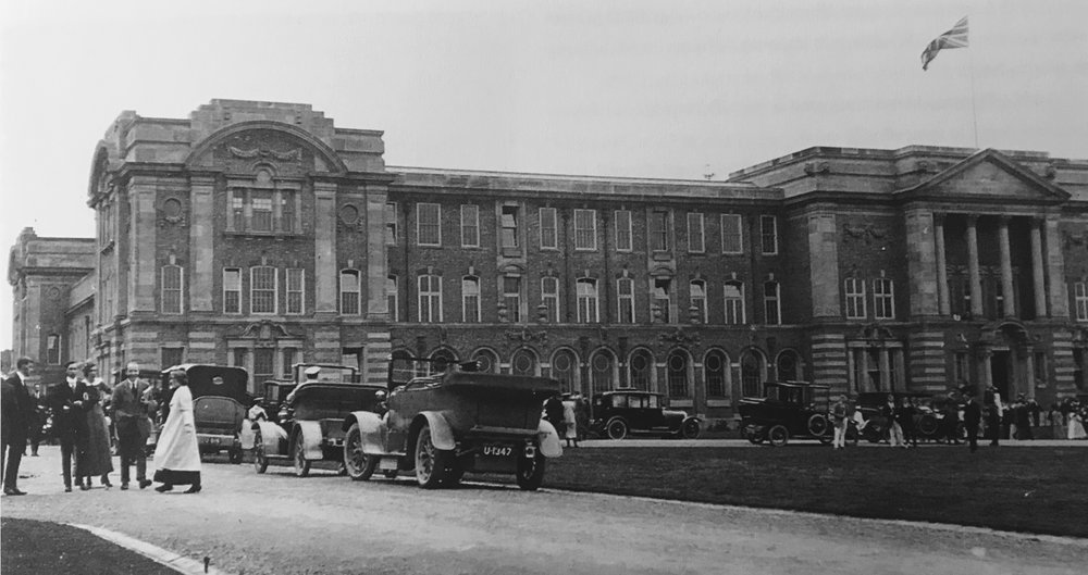 Official opening of the College at Beckett Park, 1913