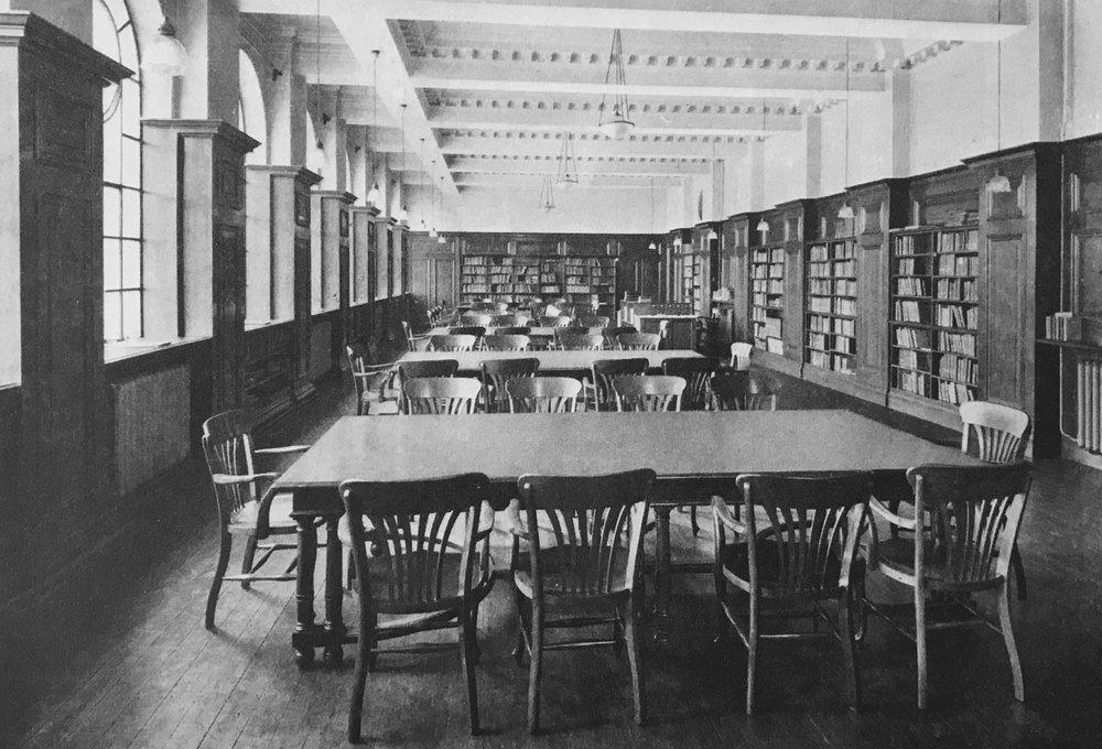 Original College Library, 1912
