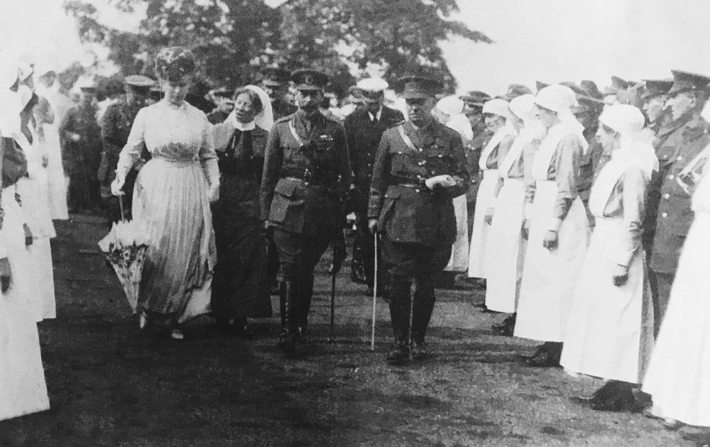 King George V and Queen Mary, 1918