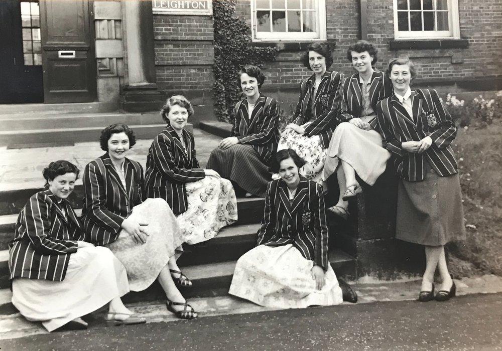 Leighton students, 1953
