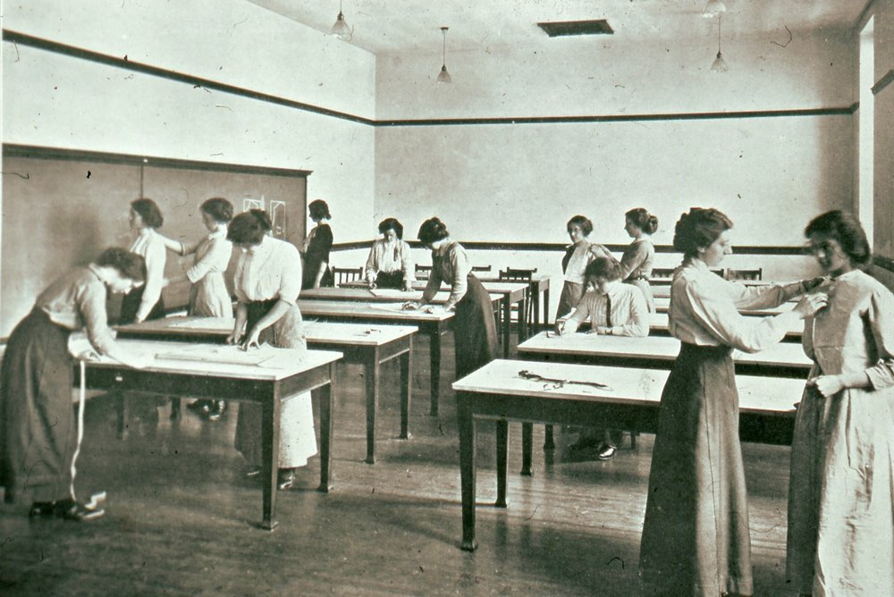 Needlework Room, 1913
