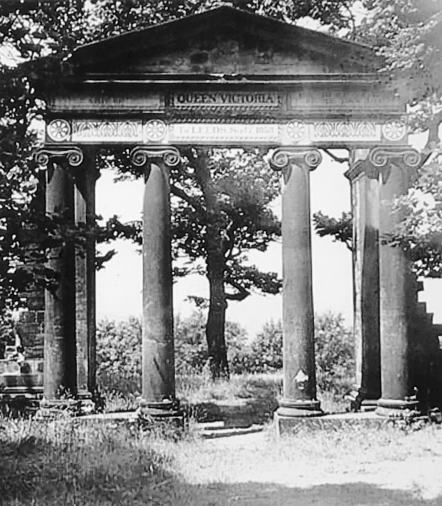 Queenswood Monument, 1858