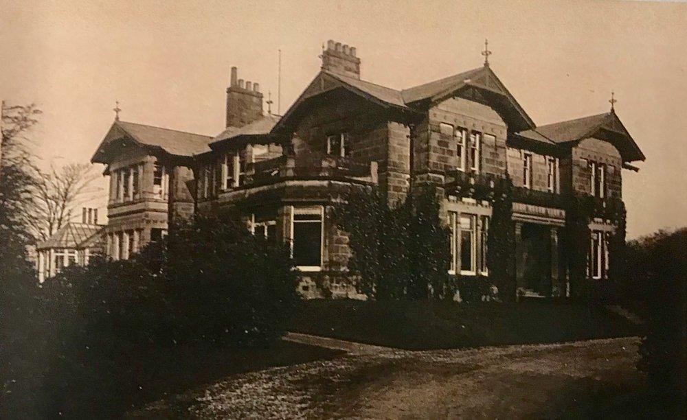 Weetwood Grange (women's hostel) temporary College, c1907