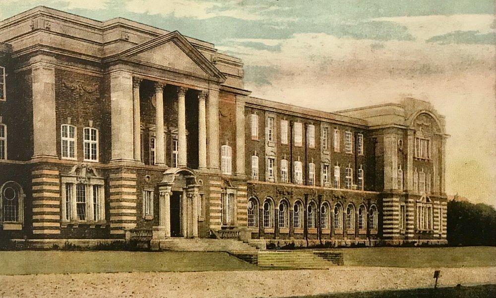 Entrance, Education Block (now James Graham Building) c1912