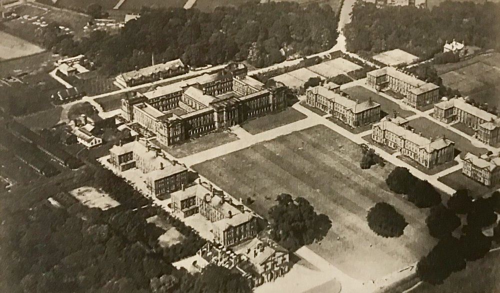 College from the air