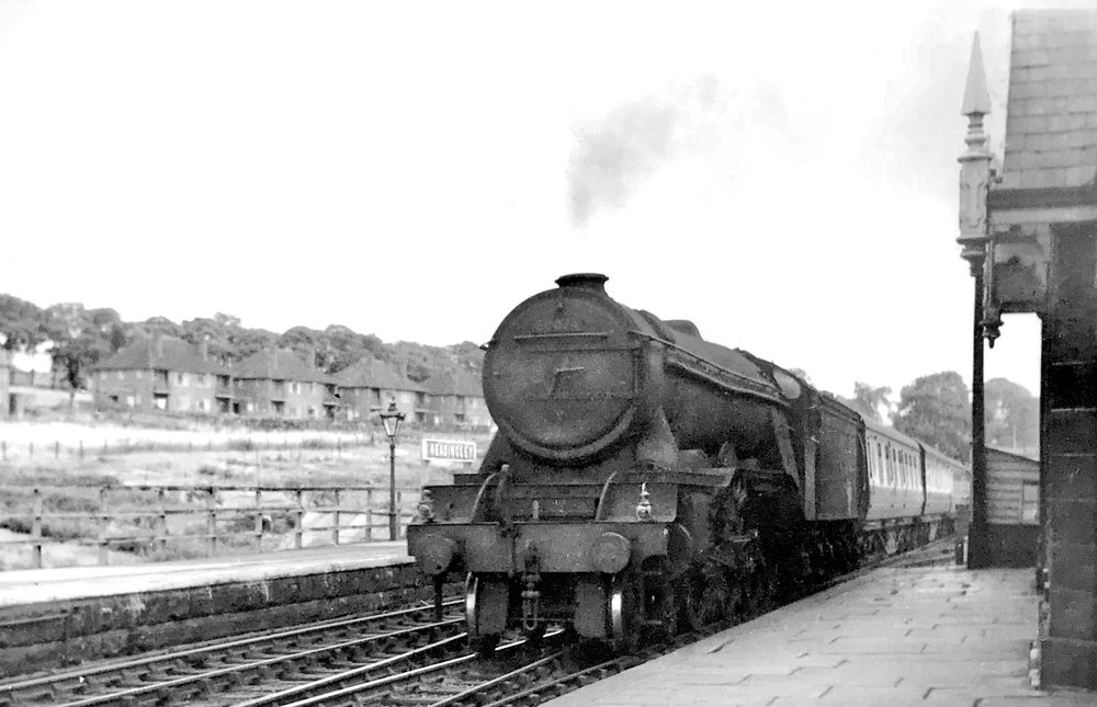A3 Pacific class locomotive, BR 60074, 'Harvester'