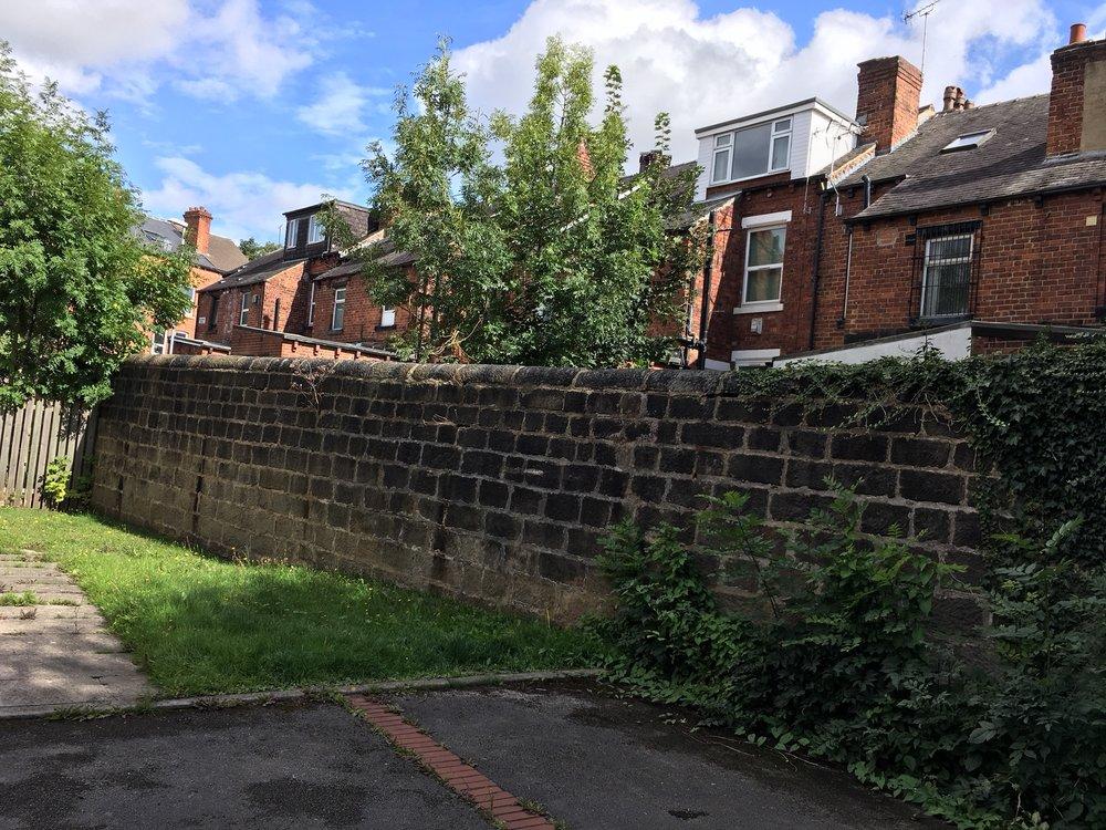 The Garden Wall, eastern interior, 71 Cardigan Road