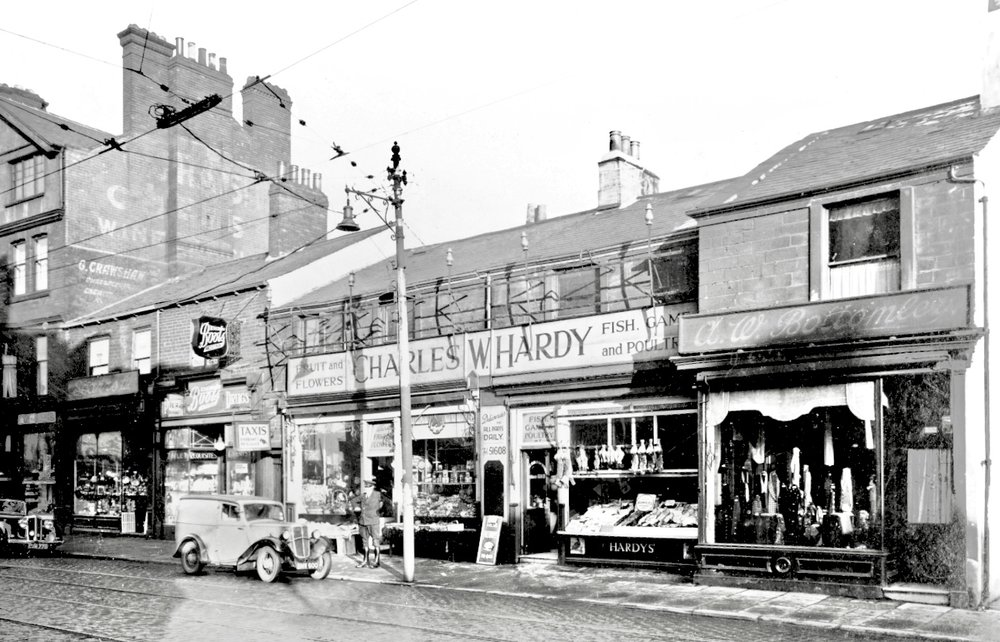 Hyde Park Corner, Headingley Lane, 1937