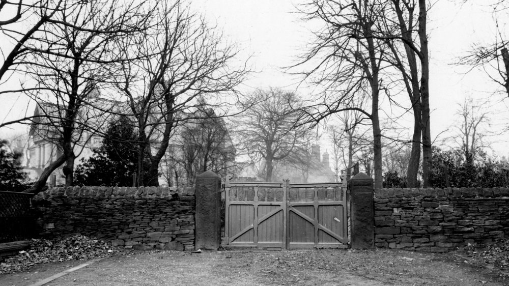 End of Shire Oak Road, undated