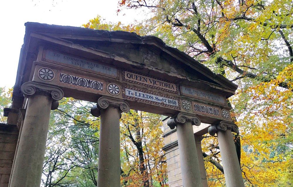 Victoria Memorial, Queen's Wood © HP