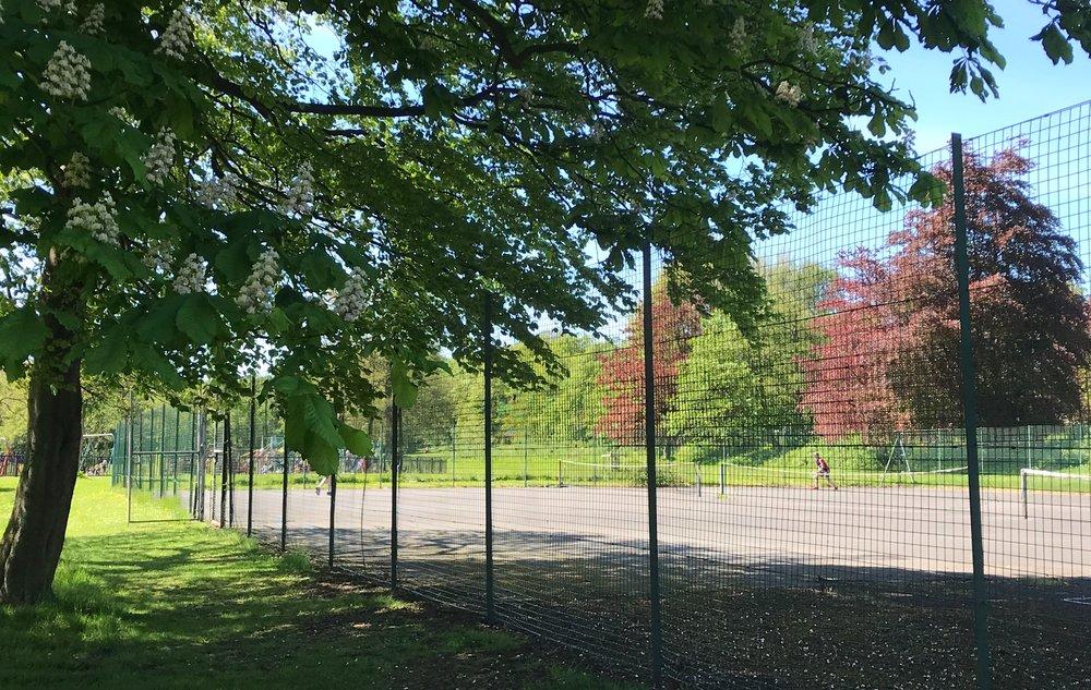 Tennis Courts, Beckett Park © HP