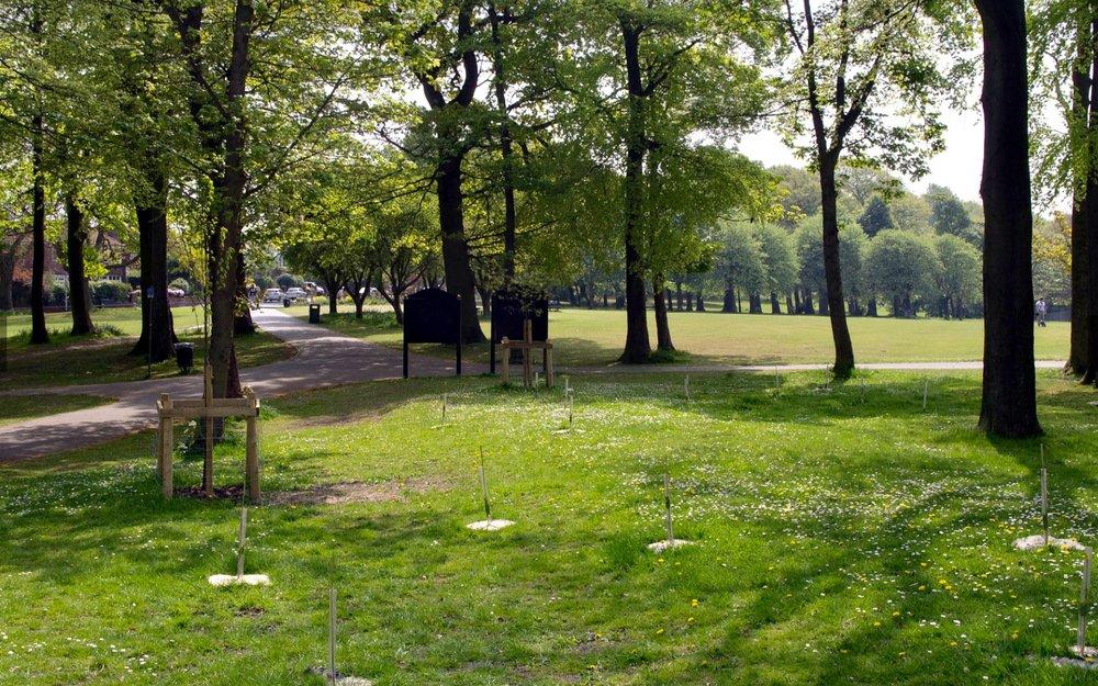 Beckett Park © FOBP