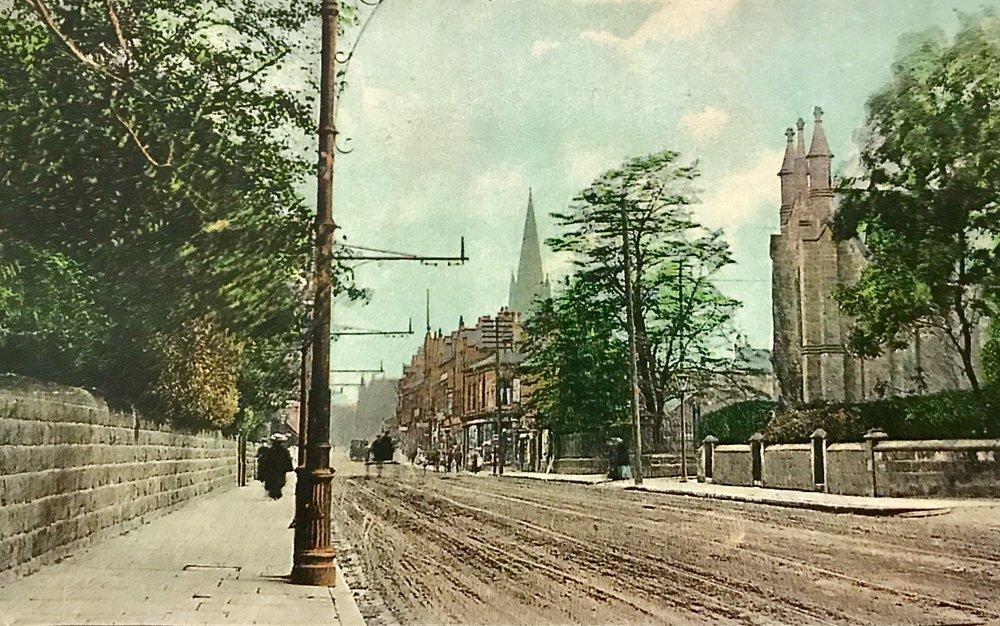 Otley Road, 1907