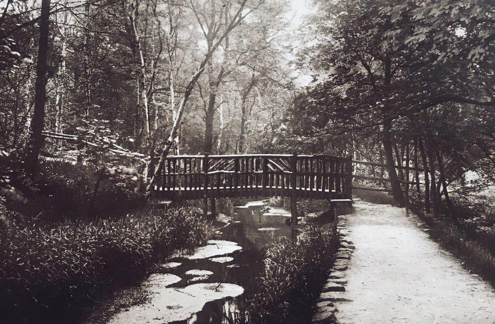 The Hollies, Bridge over Mill Stream, circa 1920s