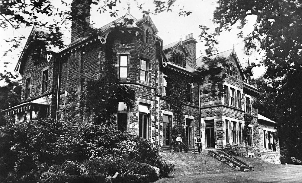 The Hollies, Children's Tuberculosis Sanatorium, 1927