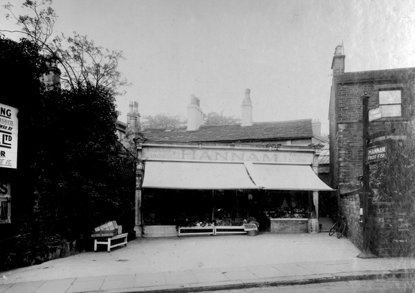 Hannam's Fruit and Fish Shop, 1931