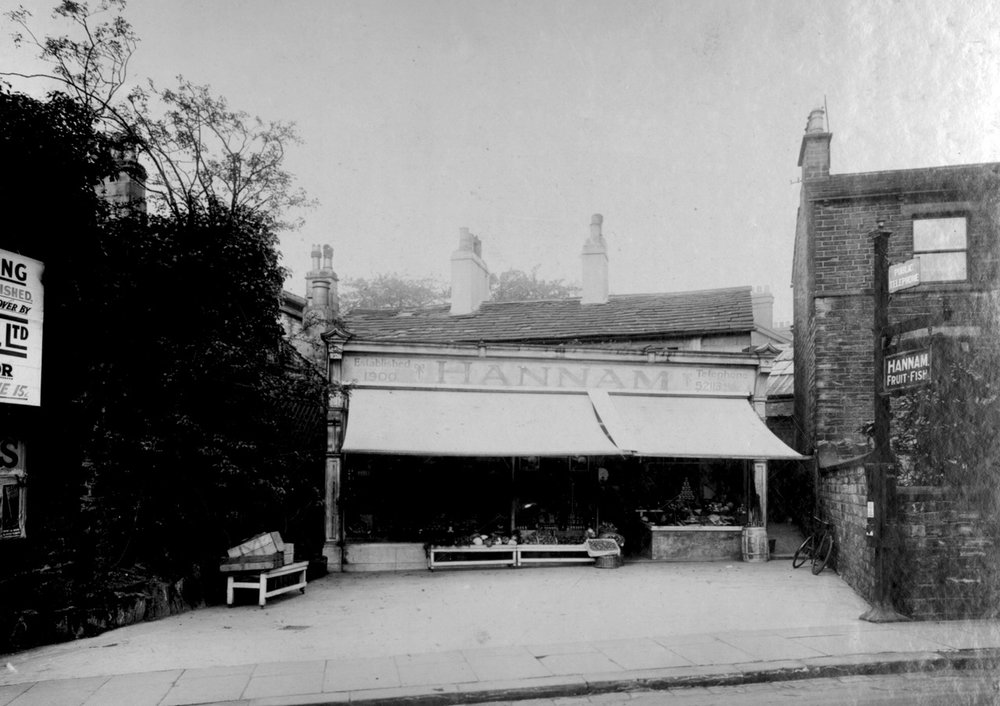 Hannam's Fruit and Fish Shop, 50 North Lane