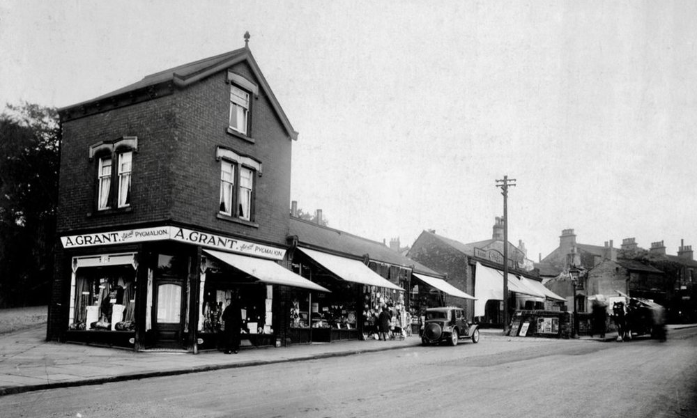 62-54 North Lane, with South Parade Junction, 1931