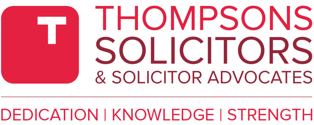 THOMPSONS SOLICITORS - Proud sponsors of SHIF's March 30th Event