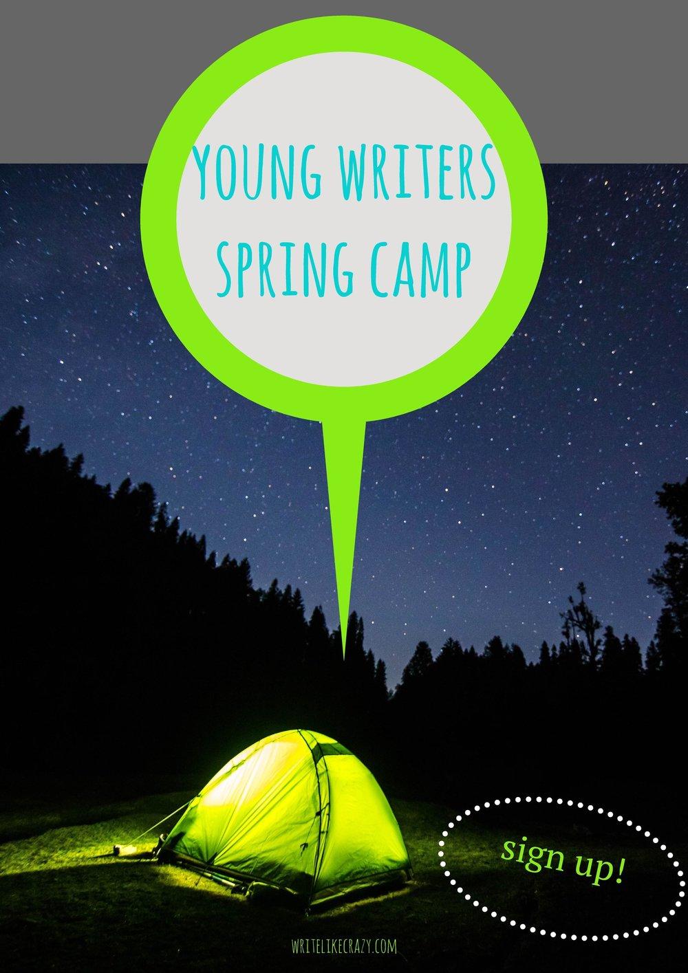 Spring Camp: Registration now Open!