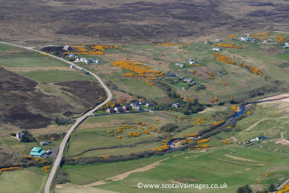 River, Strathy Inn & Steven Terrace