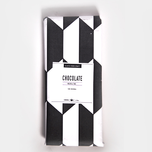 CHOCOLATE DE MENTA 70%  - Q.40  3.55oz (0.22lb)