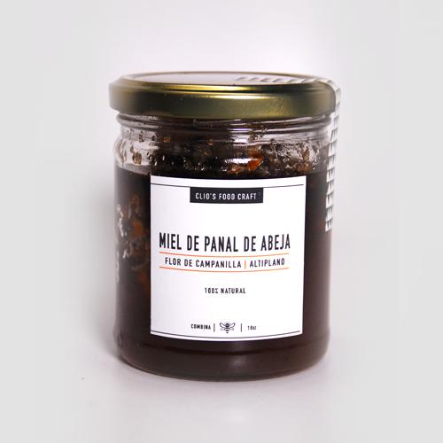 MIEL DE PANAL DE ABEJA FLOR DE CAMPANILLA (ALTIPLANO) - Q.75