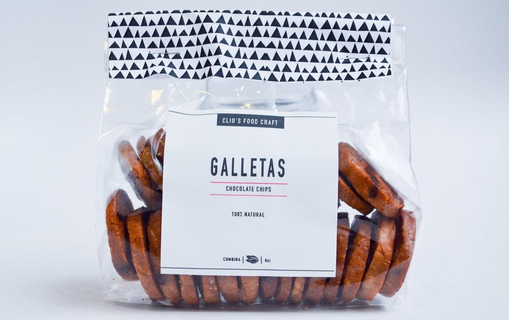 GALLETAS CHOCOLATE CHIP - Q.35   8oz