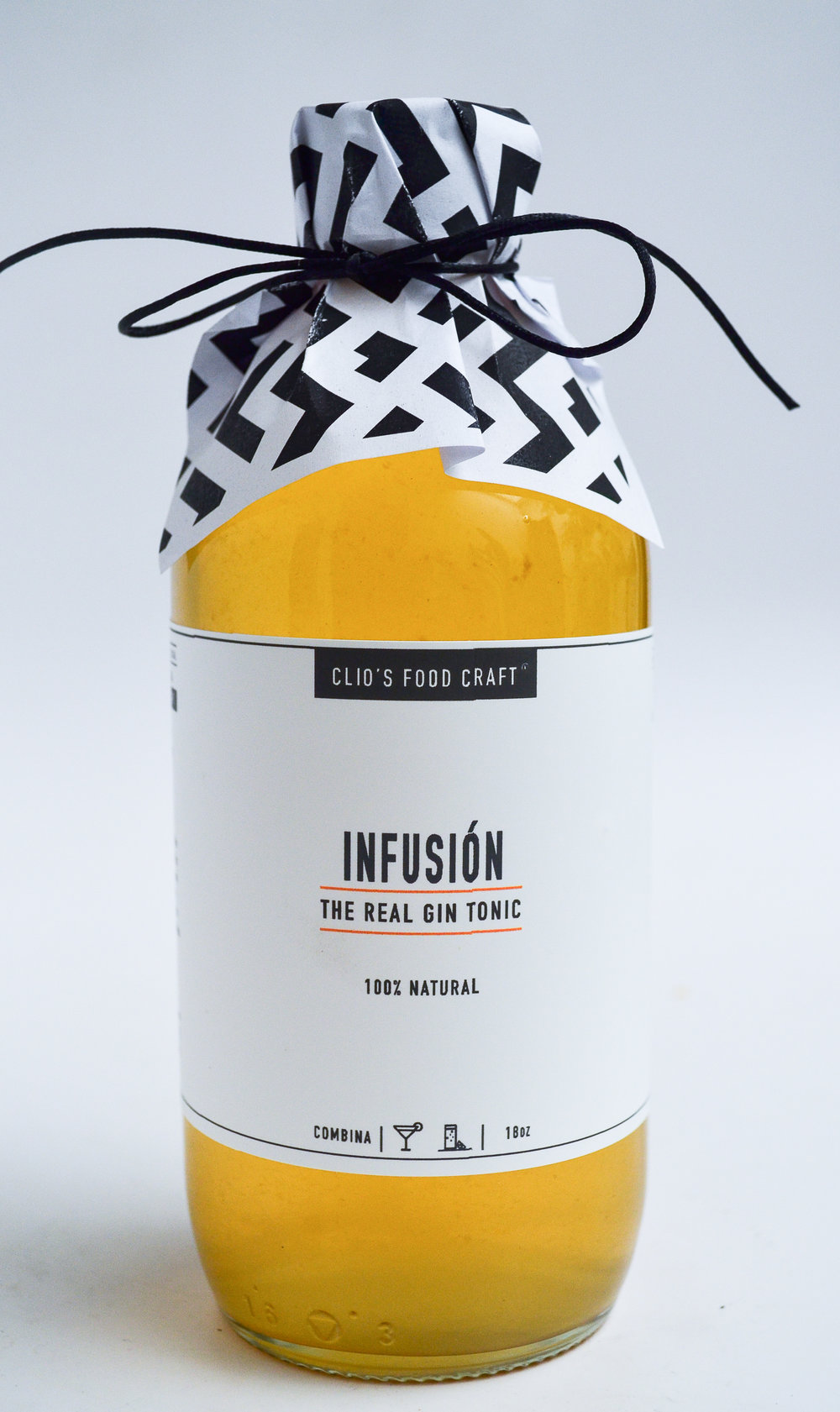 INFUSION THE REAL GIN TONIC - Q.175 18oz