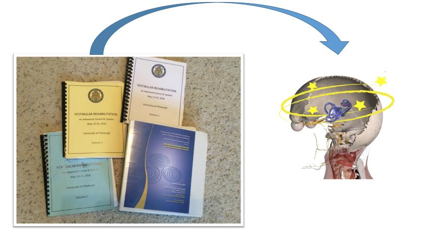 Cervicogenic Dizziness, Cervical Vertigo, BPPV, Neck pain and Dizziness