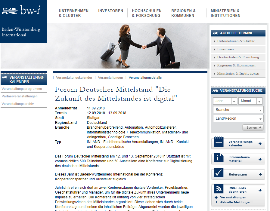 Forum Deutscher Mittelstand