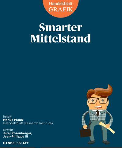 Handelsblatt Infografik´Smarter Mittelstand -