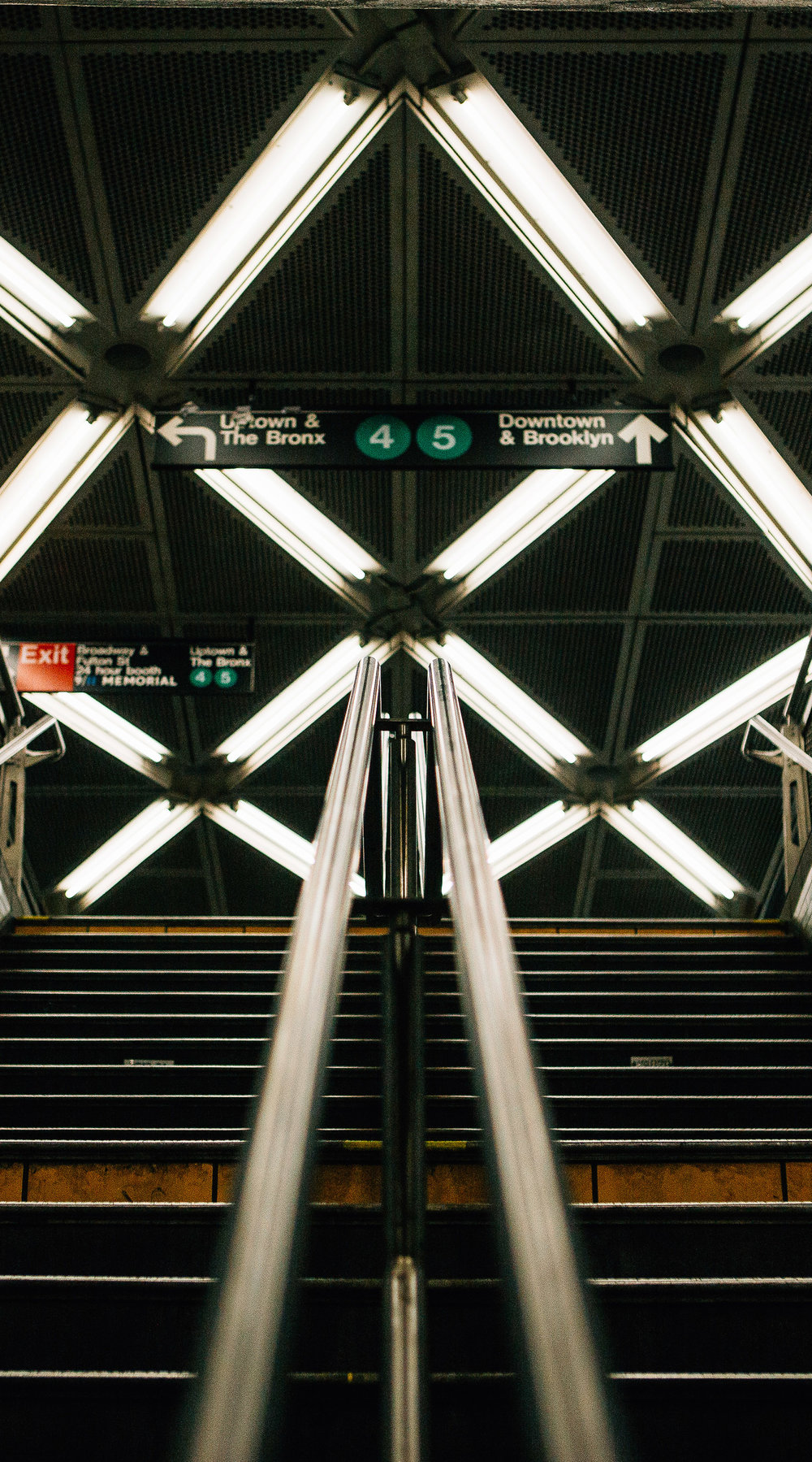 stairs to light rail