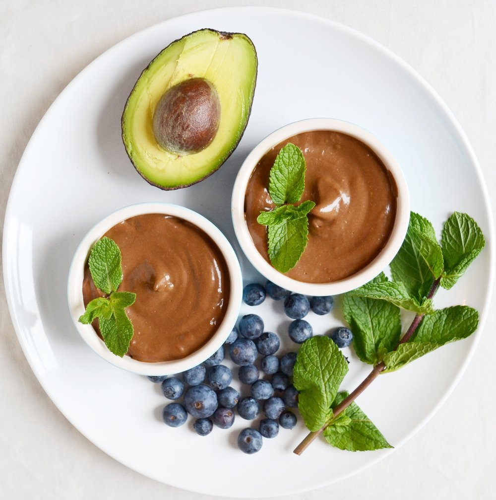 Avocado & Cacao Mousse — K Health Kitchen