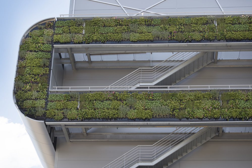Living Wall at Nike Headquarters - Architectural Ideas
